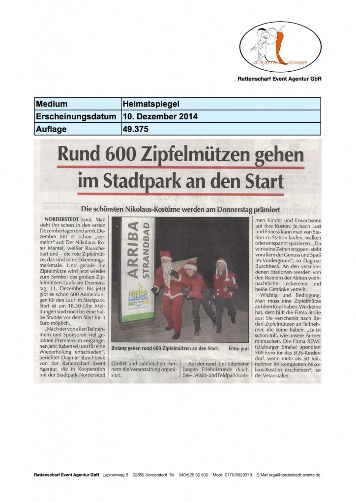 Heimatspiegel 10 Dezember