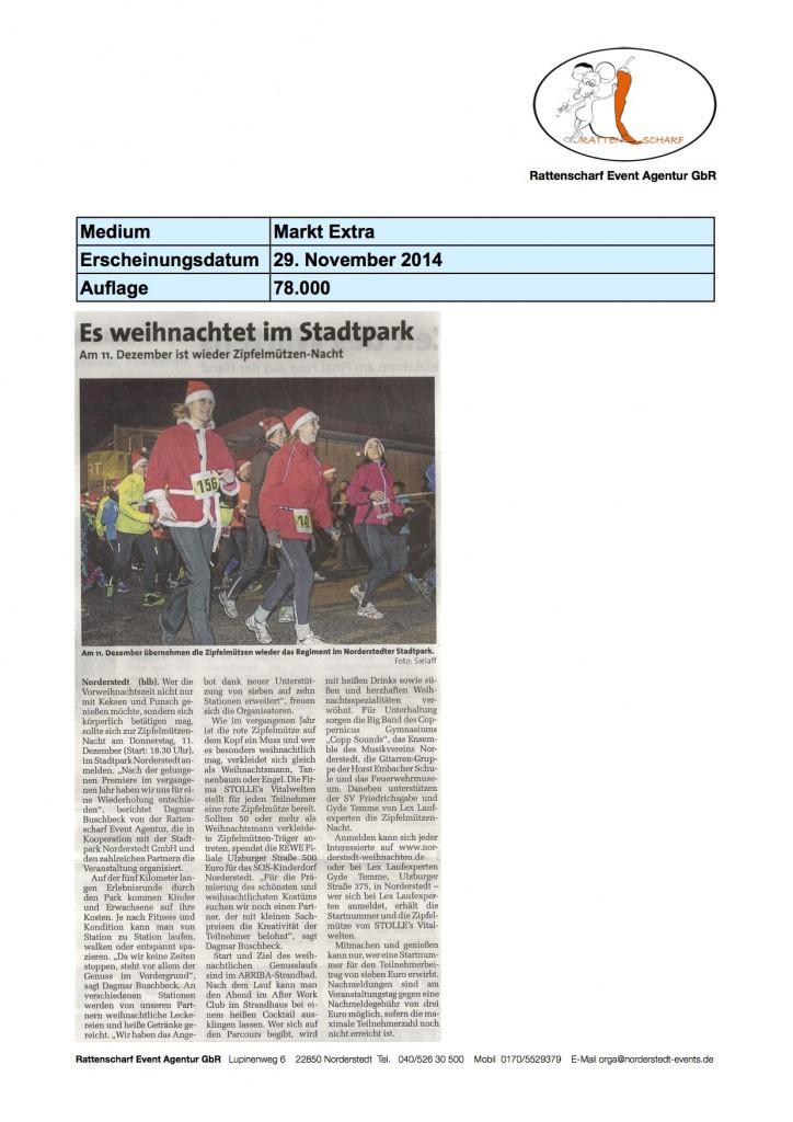Markt Extra 29. November