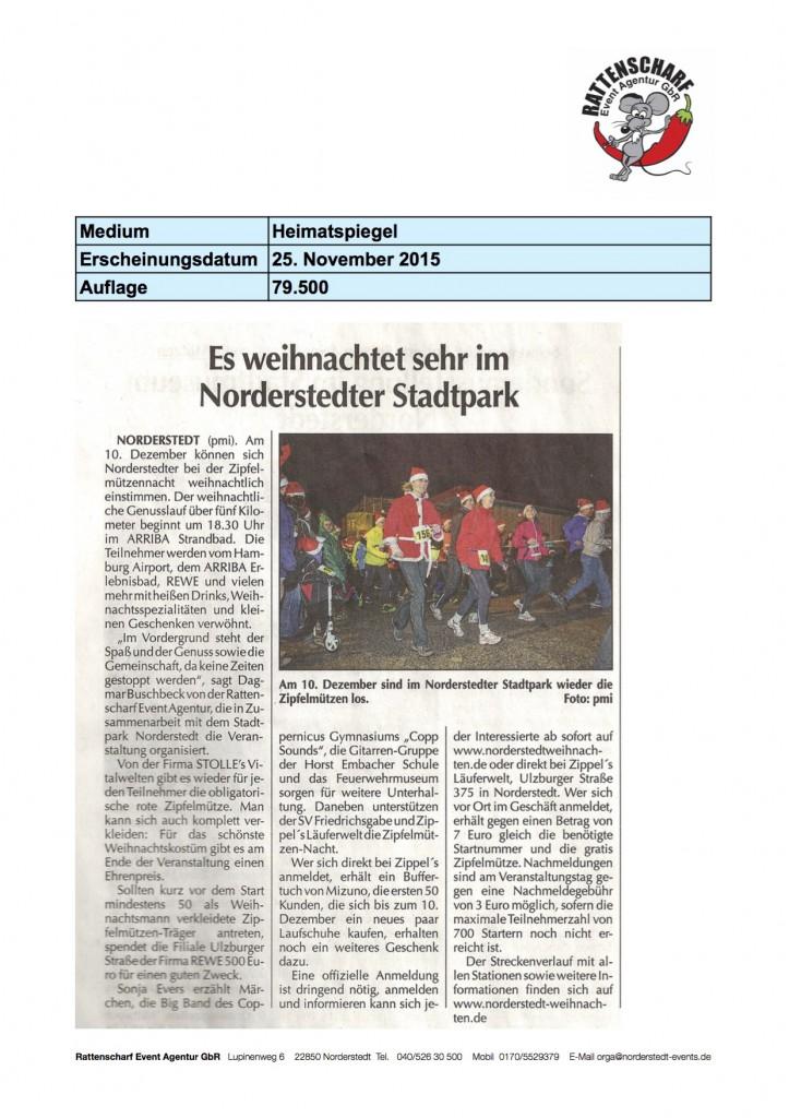 2 Norderstedter Zeitung 25. November 2015