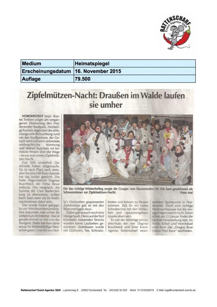 5 Norderstedter Zeitung 16. November 2015